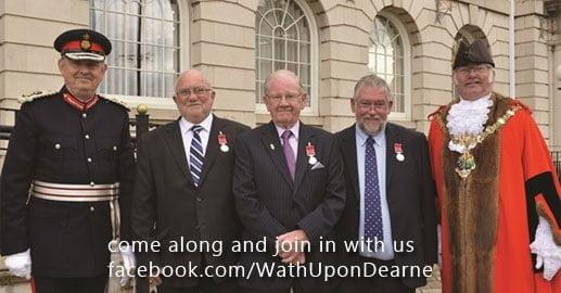 Unsung heroes honour at British Empire Medal presentation